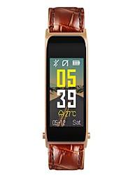 abordables -Reloj elegante Y6 para iOS / Android Monitor de Pulso Cardiaco / Medición de la Presión Sanguínea / Calorías Quemadas / Standby Largo / Llamadas con Manos Libres Podómetro / Recordatorio de Llamadas
