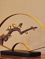 Недорогие -1шт Дерево / Металл Европейский стиль для Украшение дома, Декоративные объекты Дары