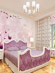 Недорогие -пользовательские 3d настенные обои розовый цветок иллюстрация подходит для ресторана фоне стены покрытия 448 × 280 см