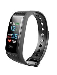 Недорогие -Смарт Часы CK17S для Android iOS Bluetooth Водонепроницаемый Пульсомер Измерение кровяного давления Сенсорный экран Длительное время ожидания / Педометр / Датчик для отслеживания сна / будильник