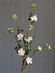 abordables -Fleurs artificielles 1 Une succursale Classique Rustique Azalée Arbre de Noël