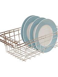 baratos -Utensílios de cozinha Inoxidável Simples / Multifunções Suporte Uso Diário / Para utensílios de cozinha 1pç