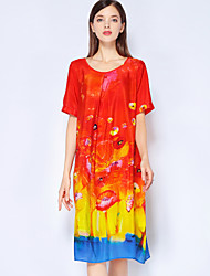 cheap -Mary Yan & Yu Women's Basic / Street chic A Line Dress Print