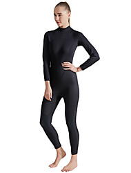 cheap -SBART Women's Full Wetsuit 2mm CR Neoprene Diving Suit Long Sleeve Solid Colored / Back Zipper Summer