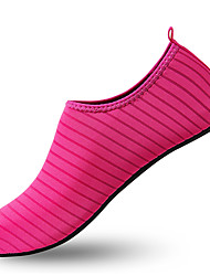 cheap -Women's Shoes Elastic Fabric Spring & Summer Comfort Athletic Shoes Upstream Shoes Flat Heel Blue / Pink / Light Blue / Striped