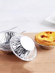 Недорогие -Инструменты для выпечки Алюминий Своими руками Хлеб / Cupcake / конфеты Формы для пирожных / Инструменты для выпечки 50шт