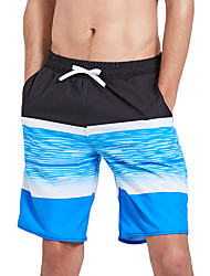cheap -SBART Men's Swim Shorts Waterproof, Quick Dry, Wearable Polyester / Spandex Swimwear Beach Wear Board Shorts Reactive Print Surfing / Beach / Water Sports / Stretchy