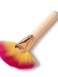 abordables -1 Pièce Pinceaux à maquillage Professionnel Maquillage Pinceau en Nylon Bois Haute qualité / Mode