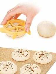 Недорогие -домашние хлебные булочки формы хлеб кайзер линия плесень кухня печенье выпечки инструменты