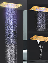 Недорогие -Современный Дождевая лейка Ti-PVD Особенность - Дождевая лейка / Новый дизайн, Душевая головка