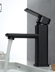 cheap -Bathroom Sink Faucet - New Design Black Other Single Handle One Hole