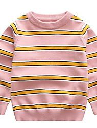 baratos -Bébé Para Meninos Sólido Manga Longa Moleton & Blusa de Frio