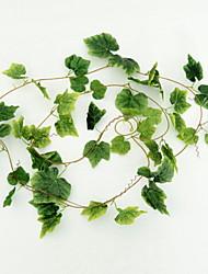 economico -Fiori Artificiali 5 Ramo Da parete Rustico Piante Ghirlande e fiori da appendere