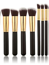 cheap -10pcs Makeup Brushes Professional Makeup Brush Set Nylon fiber Eco-friendly / Professional / Soft Wooden / Bamboo