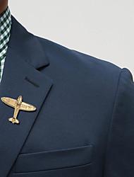 abordables -Homme Stylé Broche - Avion Branché, Mode, Elégant Broche Or / Argent Pour Mariage / Vacances