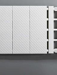 Недорогие -ABS + PC Прямоугольная Новый дизайн / Геометрический узор Главная организация, 1шт Держатели / Вешалки