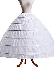 abordables -Mariage / Soirée / Fête Déshabillés Polyester Ras du Sol Jupons amincissants / Long avec
