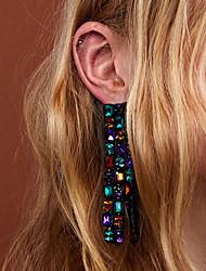 abordables -Femme Glands / Long Boucles d'oreille goutte - Pointe Gland, Branché Bleu / Rose / Bleu clair Pour Quotidien / Travail