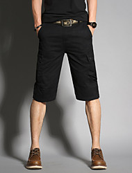 cheap -Men's Basic / Military Bootcut / Shorts Pants - Solid Colored