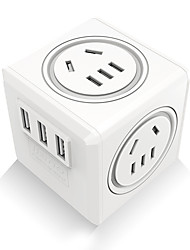 cheap -USB Charger QF-M12-1C 4 Desk Charger Station with Quick Charge 2.0 UK Plug Charging Adapter