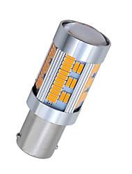billiga -SO.K 2pcs 1156 Bilar Glödlampor 10 W SMD 4014 1800 lm 105 LED Blinkers For Universell Alla år