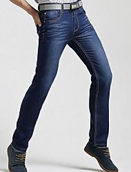 cheap -Men's Slim Jeans Pants - Polka Dot High Waist / Work / Weekend