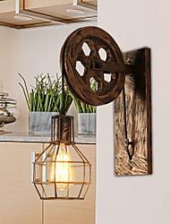 Недорогие -Cool Античный Настенные светильники Гостиная / Коридор Металл настенный светильник 220-240Вольт 40 W