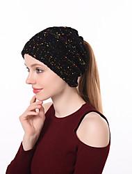 cheap -Women's Vintage / Basic Floppy Hat - Color Block
