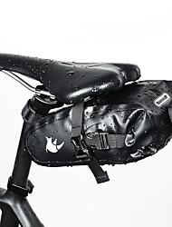 cheap -RHINOWALK 1.5 L Bike Saddle Bag / Bike Rack Bag Waterproof, Rain-Proof, Cycling Bike Bag Terylene Bicycle Bag Cycle Bag Cycling Bike