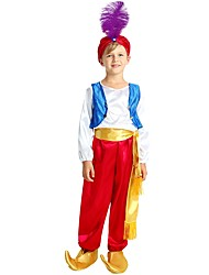 cheap -Cosplay Costume Boys' Halloween / Carnival / Children's Day Festival / Holiday Halloween Costumes Fuchsia Solid Colored / Halloween Halloween