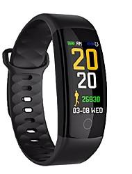Недорогие -KUPENG QS01 Умный браслет Android iOS Bluetooth Водонепроницаемый Измерение кровяного давления Сенсорный экран Израсходовано калорий / Длительное время ожидания / Педометр / Напоминание о звонке