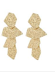 お買い得  -女性用 ロング丈 イヤリング  -  ゴールド / ブラック / シルバー 用途 結婚式 / 日常