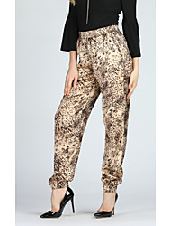 cheap -Women's Street chic / Military Harem / Chinos Pants - Polka Dot / Leopard