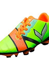 abordables -Garçon Chaussures Gomme Automne Confort Chaussures d'Athlétisme Football pour Enfants Orange / Vert / Bleu