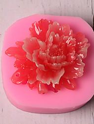 Недорогие -Инструменты для выпечки Силикон Праздник / 3D в мультяшном стиле / Креатив Торты / Многофункциональный / Шоколад Квадратный Формы для пирожных 1шт