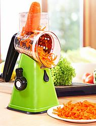 baratos -Utensílios de cozinha Inoxidável Novo Design / Multifunções / Gadget de Cozinha Criativa Ferramentas Cortantes / Peeler & Grater / Conjuntos de ferramentas para cozinhar Multifunções / Vegetais