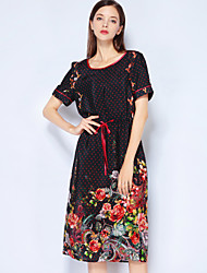 cheap -Mary Yan & Yu Women's Vintage / Street chic A Line Dress Print