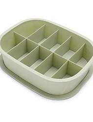 baratos -PVC Retângular Novo Design Casa Organização, 1pç Caixas de Armazenamento