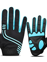 cheap -Sports Gloves Bike Gloves / Cycling Gloves Reflective / Wearable / Protective Touch Screen Gloves / Outdoor Microfiber / EVA / Ottoman Road Cycling / Outdoor Exercise / Cycling / Bike Men's