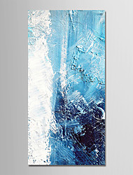 cheap -Oil Painting Hand Painted - Abstract / Holiday Modern Canvas