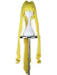 Недорогие -Косплэй парики Косплей Косплей Желтый Аниме Косплэй парики 42 дюймовый Термостойкое волокно Все Хэллоуин парики