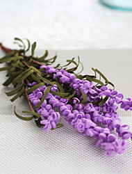 cheap -Artificial Flowers 1 Branch Classic Simple Style Lavender Floor Flower