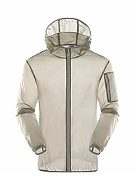 cheap -Men's Sports Jacket - Solid Colored Hooded / Long Sleeve