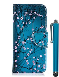 cheap -Case For Nokia Nokia 5.1 / Nokia 3.1 Wallet / Card Holder / with Stand Full Body Cases Flower Hard PU Leather for Nokia 8 / Nokia 6 2018 / Nokia 5.1