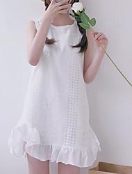 preiswerte -Damen Etuikleid Kleid Solide Mini