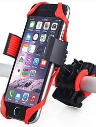 baratos -Base de Telefone Para Bicicleta 360 Rotating Moto Plásticos / silica Gel Preto / Vermelho