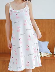 abordables -Mujer Escote en U Lencería con Liga Pijamas A Lunares