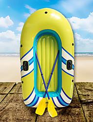 Недорогие -2 человека Надувная лодка с аксессуарами с Французские весла PVC Портативный складной Рыбалка / катание на лодках / Водные виды спорта 188*114 cm