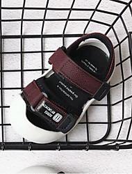 preiswerte -Jungen Schuhe Leinwand Frühling Sommer Lauflern Sandalen Klettverschluss für Baby Grau / Grün / Wein