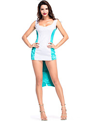 cheap -The Little Mermaid / Mermaid Tail Cosplay Costume Halloween / Carnival Festival / Holiday Halloween Costumes White Patchwork / Mermaid Ancient Egypt